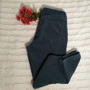 Ann Taylor LOFT Modern Skinny Corduroys Size 12